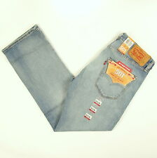 Levis 501 Jeans Original  New Mens Size 33 x 30 MEDIUM BLUE W/STRETCH Levi's NWT