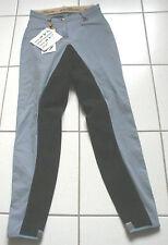 HKM leichte  Damen Reithose,Vollbesatz ,Gr.34,  blau,(3597)