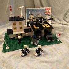 LEGO 370 Police Station Garage Heliport Tower complete vintage set w instruction