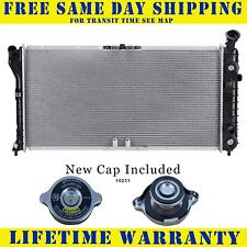 Radiator With Cap For Chevy Pontiac Fits Venture Silhouette 3.1 1889WC