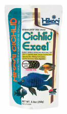 Hikari 8 8ounce Cichlid Excel Floating Pellets for Pets Medium Ship