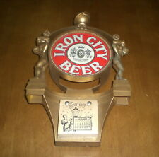 1976 IRON CITY BEER CALENDAR -  VINTAGE