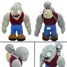 "11.8"" Plants vs Zombies PVZ Figure Plush Toy Doll Gargantuar Baby Staff Soft Toy"