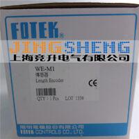 1PC New FOTEK meter counter / length transmitter WE-M1  #YX