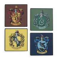 Official Harry Potter Tea Coasters Hufflepuff Gryffindor Ravenclaw Slytherin