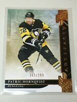 F37507 2019-20 UD Artifacts Gold /299 PATRIC HORNQVIST PENGUINS