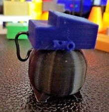 Rc 1/10 Scale Black Blue Pancake Small Air Compressor Rock Crawler Accessories
