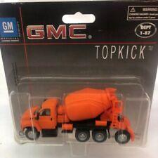 Boley GMC Topkick Rare Cement Mixer Orange 1:87 Scale DieCast w Plastic #3013-99