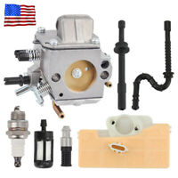 Gas Chain Saw Carburetor for STIHL 029 039 MS290 MS310 MS390 Walbro Carb Engine