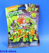 MEGA BLOCKS Teenage Mutant Ninja Turtles Sammelfiguren DMX21 / Serie 1
