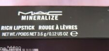 MAC M.A.C Mineralize Rich Lipstick EVERYDAY DIVA NEW IN BOX LOOK