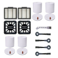 Filters Side Brushes Kit Replace For Shark IQ R101AE Robot Vacuum-Cleaner Parts
