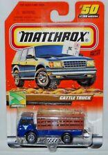 MATCHBOX TREASURE HUNT MB 2000 LOGO CATTLE TRUCK #50