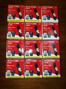 AccuChek Guide Test Strips 12 Brand New Boxes Expire 2022