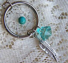 STAINLESS_STEEL ~ DREAM_CATCHER ~ PENDANT ~ NECKLACE  -- (GREAT_CHRISTMAS_GIFT)