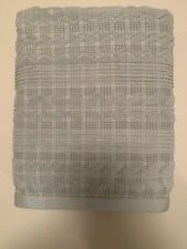Lauren RALPH LAUREN Seafoam Green Plaid Jacquard Country Bath Towel