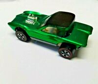 HOT WHEELS VINTAGE REDLINE 1968  PYTHON GREEN U.S. UNRESTORED ALL ORIGINAL NMINT