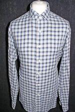 RALPH LAUREN Mens Blue Check Long Sleeved Shirt Size XXL