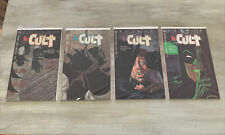 BATMAN: THE CULT - Books 1-4 Set Starlin & Wrightson NM for all 1 2 2 4 lot