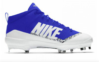 Nike Force Air Trout 4 Pro Baseball Cleats Size 13 Blue White Men's  917920-444