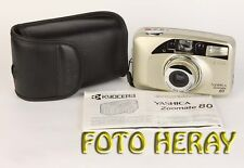 Kyocera yashica zoomate 80 Compact Caméra, objectif 38-80, 456796
