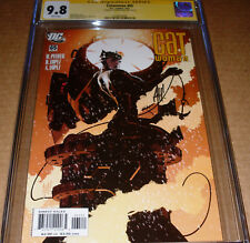 Catwoman #65 CGC SS 9.8 SIGNED Adam Hughes DC 2007 Selina Kyle White pages