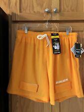 Nwt Bauer Core Mesh Hockey Jock Shorts Yellow Size Xl
