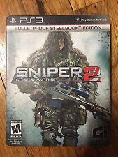 Sniper: Ghost Warrior 2 BulletProof SteelBook Edition (Sony PlayStation 3 2013)