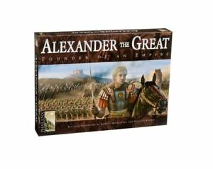 Mayfair Phalanx Strategy Games EN Alexander the Great Historical Board Game NEW