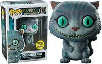 Cheshire Cat Glow in the Dark GITD Disney Alice POP! #178 Vinyl Figur Funko