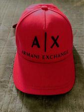 New Armani AX Mens POP COLOR EMBROIDERED LOGO HAT CAP