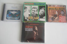 MOSE ALLISON High Jinks Trilogy Box Transfiguration V-8 Ford I love the life 3CD