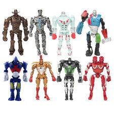 Real Steel Characters Noisy Atom Midas Metro Twin Cities 8 PCS Action Figure Toy