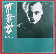 KOD  ORIG FR LP FRENCH MINIMAL ELECTRO SYNTH