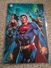 DCJustice League 11x17 Litho Megacon Exclusive Superman Batman Wonder Woman