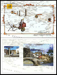 "ALBANIA ""Europe 2020 - Ancient postal routes"" Booklet - MNH"