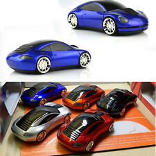 UK STOCK - 2.4GHz Wireless 3D Sport Porsche Car Shape Usb Optical Gaming Mouse