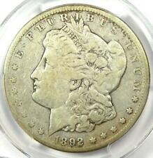 1892-CC Morgan Silver Dollar $1 - Certified PCGS F15 - Rare Carson City Coin!
