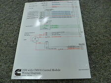Cummins ISM Engine with CM876 Control Module Electrical Wiring Diagram Manual