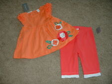 First Impressions Baby Girls Flower Outfit Set Size 24 Months 24M mos NWT NEW