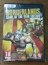 BORDERLANDS Game Of The Year Edition (PC DVD-ROM) UK IMPORT