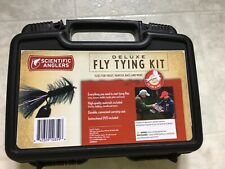 Scientifc Anglers Deluxe Fly Tying Kit Includes Materials and Tools