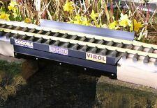 300x162x70mm G SCALE GAUGE ALUMINIUM OUTDOOR GIRDER BRIDGE ASSEMBLED & FINISHED