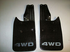 1996 2002 96 02 Toyota 4wd Tacoma Pickup Pick Up Truck Rear Mud Flaps Withbrackets