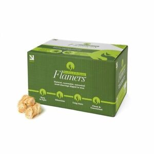 Certainly Wood Flamers 1 Box 200 Natural Wood Firelighters BBQ Fireplaces Stoves