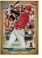Shohei Ohtani 2020 Topps Gypsy Queen 5x7 Gold #261 /10 Angels