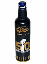 2015 BUD LIGHT NFL SUPER BOWL 50 LIMITED EDITION 16 OZ COLLECTIBLE SOUVENIR CAN