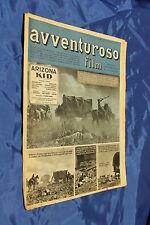 rivista fotoromanzo - AVVENTUROSO FILM - Anno 1949 Numero 2
