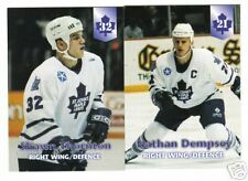 1997/98  AHL St.John's Maple Leafs Team Issued Set