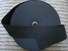 11/2* yards.BIG BLACK*2 inch heavy duty elastic band